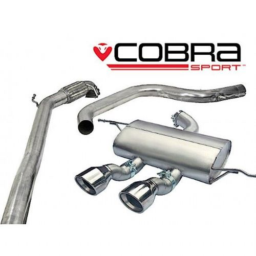 Seat Leon Cupra R Turbo Back Exhaust (De-Cat / Non-Resonated) SE29d